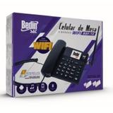 Celular De Mesa 5 Bandas 3g Bdf-12 Wifi Bdf-12