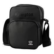 Shoulder Bag Bolsa Necessaire Black Compton Média Everbags