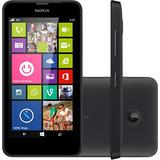 Smartphone Nokia Lumia 630 Preto Dual Chip Com Tv Digital