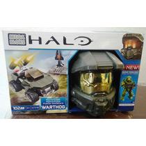 Halo Micro Fleet Flota Casco Warthog Megabloks Master Chief