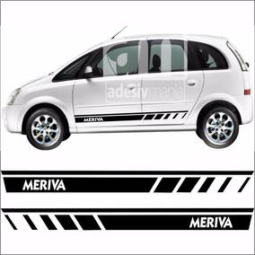 Adesivo Faixa Lateral Meriva Kit Tuning Faixa Meri-01