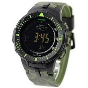 Reloj Casio Protrek Prg300cm-3 Solar Triple Sensor Wr100m