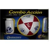 Balon Futbolito Tamanaco N°3 (balón/termo/inflador)