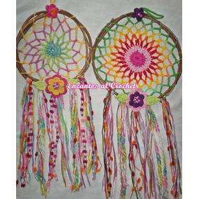 Atrapa Sueños Encantos Al Crochet