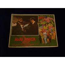 El Aguila Descalza Alfonso Arau Lobby Card Cartel Poster F