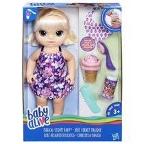 Baby Alive Sobremesa Magica - Loira - Hasbro - Lançamento