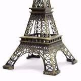 Torre Eiffel Paris 25 Cm Metal Promoção Decoração P/ 15 Anos