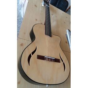 Guitarra Electro Criolla Slim Media Caja