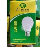 Focos De 100 Whatts Incandescentes Economicos Caja De 100 Pz