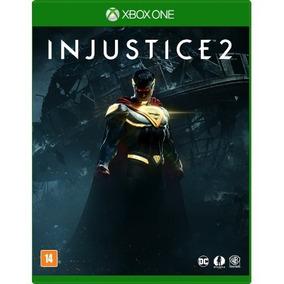 Injustice 2 - Xbox One - Novo - Mídia Física