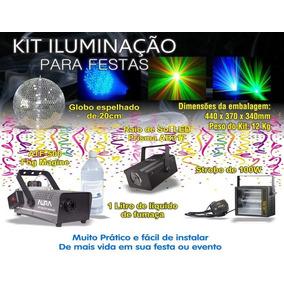 Kit Iluminação Festas Baladas Shows Promoção Frete Gratis