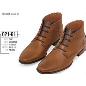 Zapatos Terra Para Caballero Color Azul Y Camel Hombre