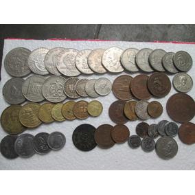 Lote 50 Monedas Mexicanas Nickel, Cobre