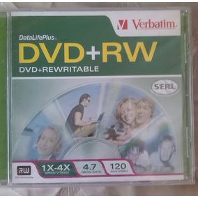 Cd Dvd+rw, Marca Verbatim...120 Min.video...
