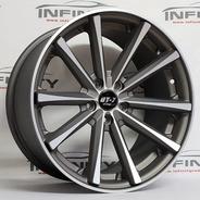 4 Roda 18 Eclipse 5x112 Jetta Golf Audi Tiguan Tala 9,5 Pdw