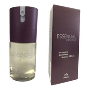 Deo Corporal Essencial Exclusivo Feminino 100ml