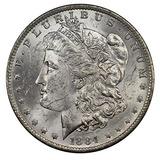 Moneda De Dólar De Plata De Los E.unidos, Opción Uncircula