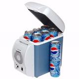 Mini Cooler Geladeira Veicular 2 Em 1 7,5l Esfria E Aquece