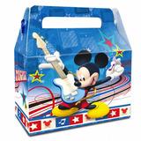 Pack 6 Cajas De Sorpresa Mickey Mouse Cumpleaños Cotillon