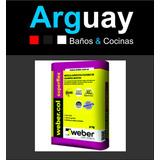 Adhesivo Weber Superflex 30kg Losa Radiante P.s/piso