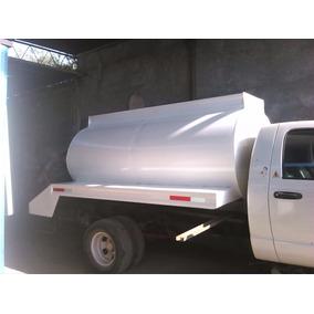 Tanque Pipa Para Agua De 5,000 Ltr Para Camion Tres Y Media