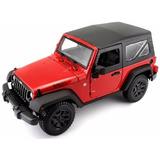 Jeep Wrangler Escala 1:18 Color Puede Variar *envio Gratis