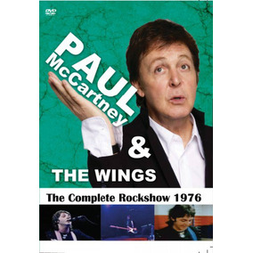Dvd Paul Mccartney & The Wings - The Complete Rockshow 1976