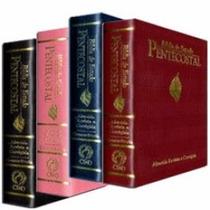 Kit 2 Bíblia De Estudo Pentecostal Pequena. (várias Cores.)