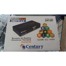 Receptor Century Midiabox B3 + Lnbf Super Digital Multiponto
