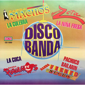 Cd Disco Banda Zeta Banda Machos Banda Viento Negro Pequeños