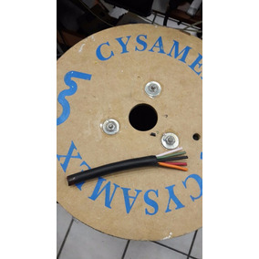 Cable 6 X14 Uso Rudo Para Bocina Audio Cysamex 30 M Winners