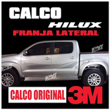 Calco Original Toyota Hilux Srv Sr Dx Calcomania X Lateral