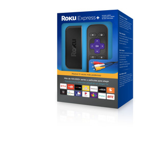 Reproductor De Streaming - Roku Express+