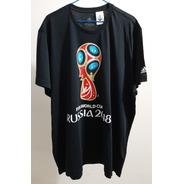 Camisa Oficial Copa Do Mundo Rússia 2018 Preta Ggg (2xl)
