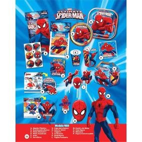 Vasos, Platos, Desechables Spiderman ¡ Los Originales!