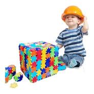Cubibloque Encastrable Por 96 Unidades - Juguetes Para Niñxs