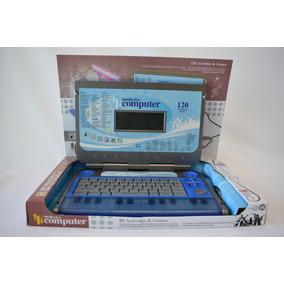 Computadora Educativa Didáctica Infantil Azul
