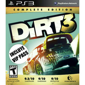 Dirt 3 + V. I. P Pass Español - Mza Games Ps3