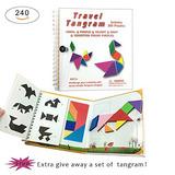 240 Puzzles Magnético Viaje Tangram Juego Tangrams