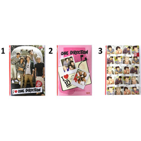 Cadeno One Direction Brochura 96fls 1d Brochurão Jandaia