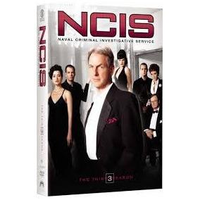 Dvd Ncis - 3ª Terceira Temporada - Leg. Em Português