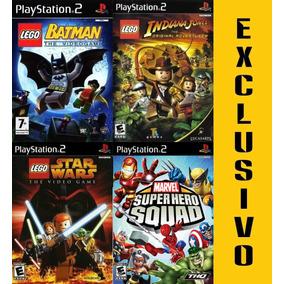 4 Jogos Lego Ps2 Exclusivo! Confira!