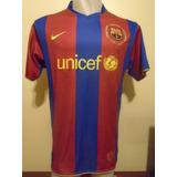 Camiseta Fútbol Barcelona España Nike 2007 2008 Henry #14 Xl