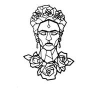 Cuadro De Madera Calada Decorativo 50 X 34 Cm Frida Kahlo