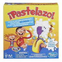 Pastelazo Juego En Familia Hasbro Con Ruleta