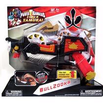 Arma Power Rangers Samurai Infantil Com Som Bullzooka