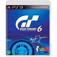 Gran Turismo 6 Sony Ps3  Mídia Física Seminovo