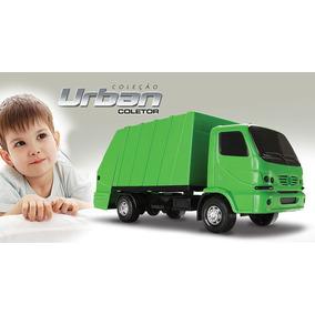 Caminhão De Lixo Roma Brinquedos Cor Verde