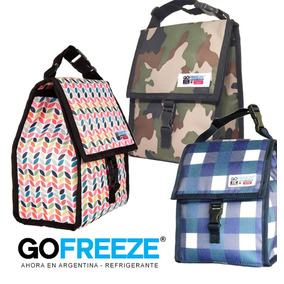 Lunchera Gofreeze Freezable Refrig Térmica Varias- 20% Off!!