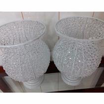 Vaso Decorativo Para Festa De Casamento Em Pedrarias (2 Pç)